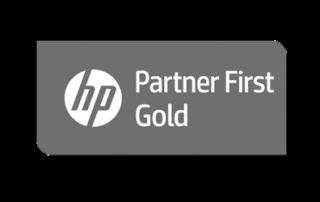 HP Partner First Gold logo